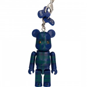 Medicom Toy Swarovski Happy Birthday Bearbrick Figure (blue)
