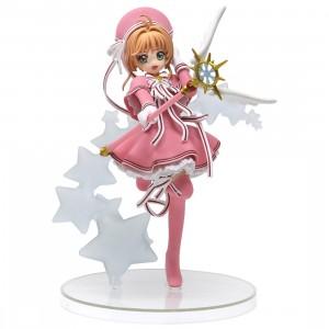 Taito Prize Cardcaptor Sakura Clear Card Sakura Kinomoto Figure (pink)