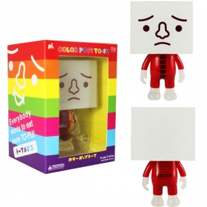 To-Fu Oyako 4 Inch Cherry Pop Figure - Color Pop (red)
