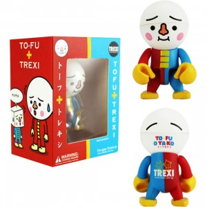 To-Fu Oyako 2.5 Inch Trexi Figure (red / blue)
