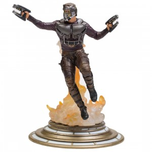 Diamond Select Toys Marvel Gallery Guardians of The Galaxy Vol. 2 Star-Lord PVC Figure (black)