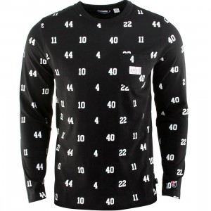 Undefeated Bad Boys Long Sleeve Tee (black)