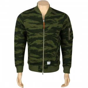 Undefeated Combat Terry MA1 Jacket (olive)