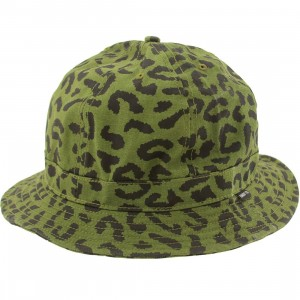 Undefeated Combat New Era Fitted Bucket Hat (olive camo)