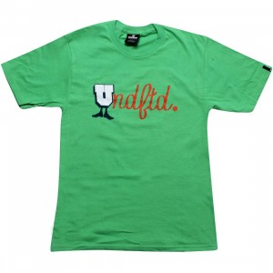 Undefeated U-Man Script Tee (green)