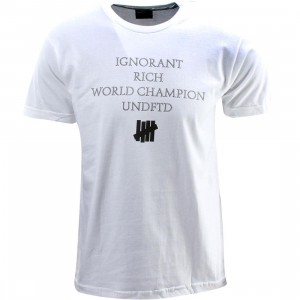 Undefeated World Champion Tee (white)