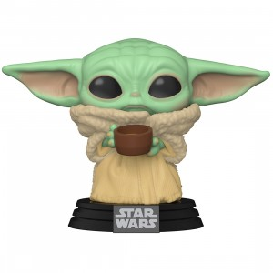 PREORDER - Funko POP Star Wars The Mandalorian - The Child with Cup (green)