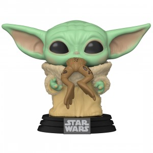 PREORDER - Funko POP Star Wars The Mandalorian - The Child with Frog (green)