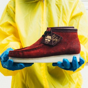 BAIT x Breaking Bad x Clarks Men Wallabee Boot - Felina US Men Size