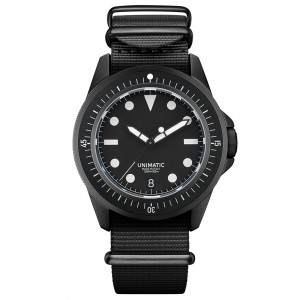 Unimatic U1-FDN Diving Watch Kit - Limited Edition of 300 (black / white)