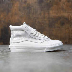 Vans Women Sk8-Hi Slim Cutout DX - Square (white / blanc de blanc)