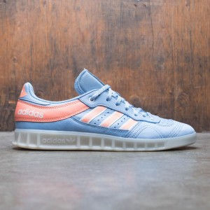 Adidas Men Oyster Holdings Handball Top  (blue / ash blue / chalk coral / chalk white)