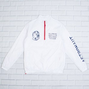 Billionaire Boys Club Men Blast Jacket (white)