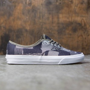 Vans Men Authentic - Denim Patchwork (navy / true white)
