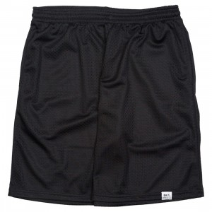 BAIT Men Nylon Basketball Shorts (black)