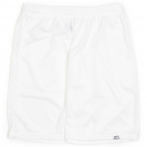 BAIT Men Nylon Basketball Shorts (white)