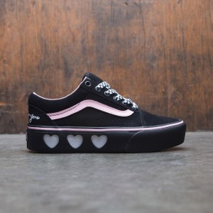 Vans x Lazy Oaf Women Old Skool Platform (black)
