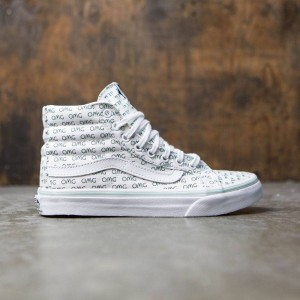 Vans Women Sk8-Hi Slim - Sayings (white / true white)