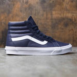 Vans Men Sk8-Hi Reissue - Premium Leather (blue / parisian night / true white)