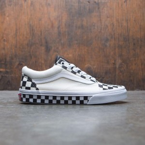 Vans Women Old Skool - Checkers (white / black)