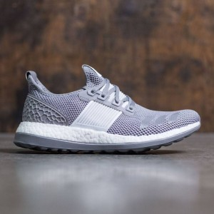 Adidas Men Pure Boost ZG (gray / charcoal solid grey / silver metallic)
