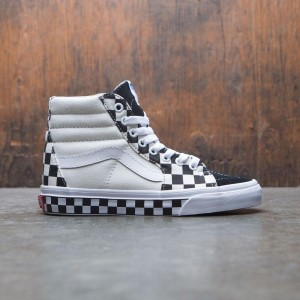 Vans Women SK8-Hi - Checker Sidewall (black / white)
