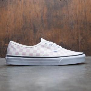 Vans Men Authentic - Checkerboard (pink / cream)
