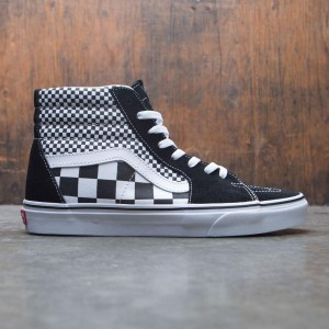 Vans Men SK8-Hi - Mixed Checkerboard (black / white)