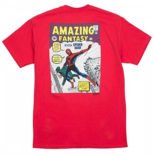 BAIT x Marvel Comics Men Amazing Spiderman Tee (red)