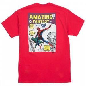 BAIT x Marvel Comics Men Amazing Spiderman Tee (red)