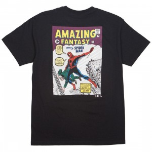 BAIT x Marvel Comics Men Amazing Spiderman Tee (black)