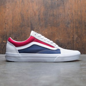 Vans Men Old Skool - Block (red / blue / white)