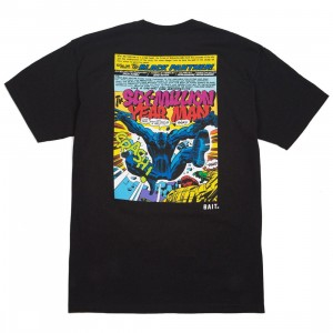 BAIT x Marvel Comics Men Black Panther Kick Tee (black)