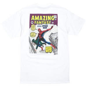 BAIT x Marvel Comics Men Amazing Spiderman Tee (white)