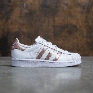 Adidas Women Superstar (white / rose gold / footwear white)