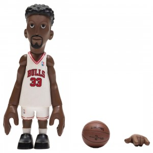 MINDstyle x Coolrain NBA Legends Chicago Bulls Scottie Pippen Figure (white)
