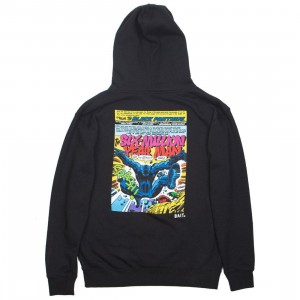 BAIT x Marvel Comics Men Black Panther Kick Hoody (black)