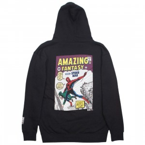 BAIT x Marvel Comics Men Amazing Spiderman Hoody (black)