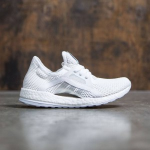 Adidas Women Pure Boost X (white / silver metallic / clear grey)