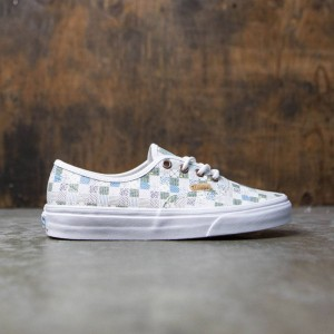 Vans Women Authentic DX - Tiles (white / leather)