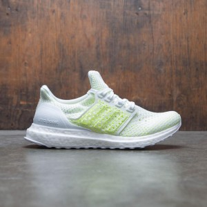 Adidas Big Kids UltraBOOST Clima J (white / footwear white / shock yellow)