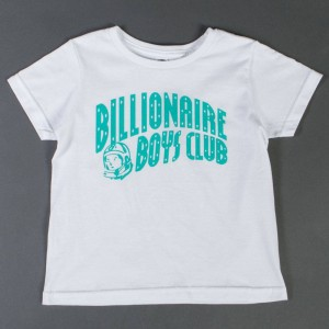 Billionaire Boys Club Youth Logo Tee (white)
