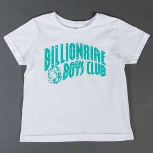 Billionaire Boys Club Youth Logo Tee (white)