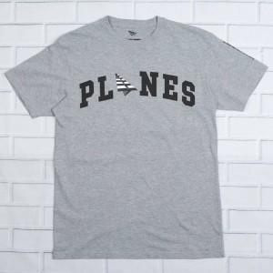 Paper Planes Men Lift Off Tee (gray / heather)