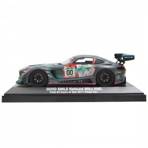 Good Smile Hatsune Miku GT Project AMG 2017 Finals Ver 1/32 Mini Car Model (gray)