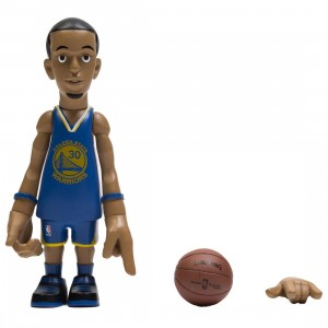 MINDstyle x Coolrain NBA Golden State Warriors Stephen Curry Arena Box Figure (blue)
