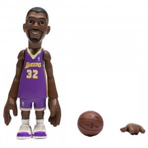 MINDstyle x Coolrain NBA Legends LA Lakers Magic Johnson Figure - BAIT Exclusive (purple)
