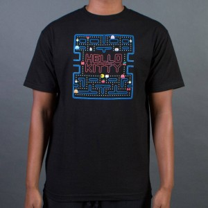 BAIT x Sanrio x Pac-Man Men Game Tee (black)