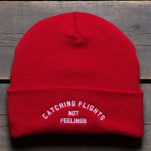 Dimepiece Catching Flights Beanie (red)