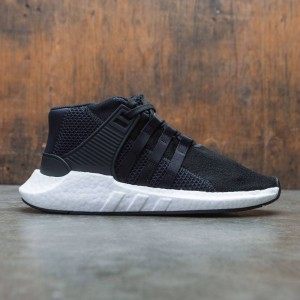 Adidas x Mastermind World Men EQT Support 93/17 Mid (black / core black / footwear white)